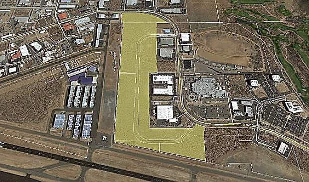 This 46-acre parcel, located on Arrowhead Drive near the Carson City Airport, is the first site approved by the Northern Nevada Development Agency in Nevada.