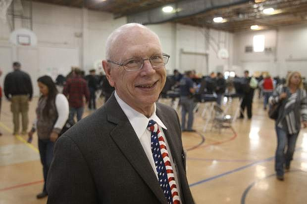 Carson City Clerk/Record Alan Glover oversaw his final election on Tuesday. He is retiring after 20 years in January.