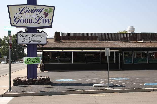 Living The Good Life is now open for business at the corner of North Carson and Adams St.