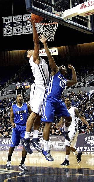 The Nevada basketball team is riding a six-game losing streak. The Wolf Pack host Cal State Fullerton on Saturday.