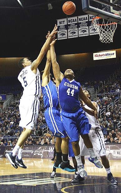 The Nevada men's basketball team has lost five straight games after winning its first two. The Pack host Cal on Sunday.