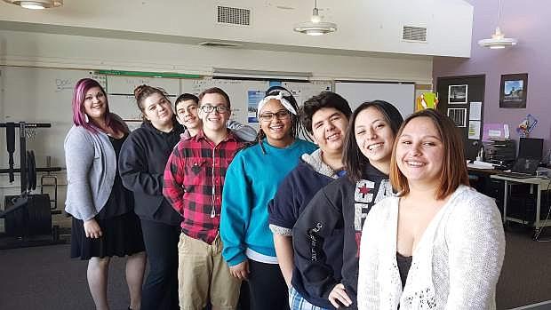 Pioneer High School JAG students.