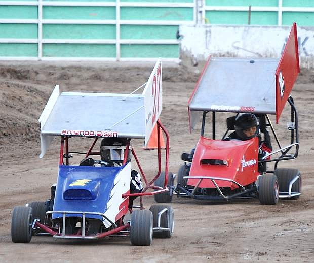 Racing returns to Rattlesnake Raceway on Saturday for the Hobby Stock Challenge and Northern Nevada Outlaw Karts series. Racing starts at 6 p.m.