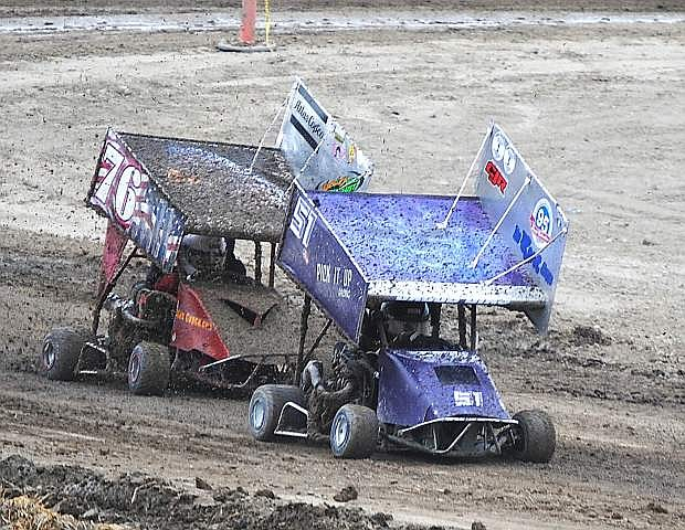 Drivers across numerous divisions competed at Rattlesnake Raceway's two-day Fourth of July event last week.