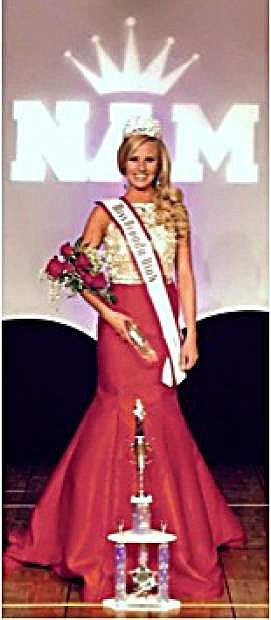 Paris Regan is the state winner of the 2015 National American Miss Teen Nevada pageant.