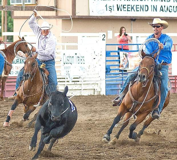 The Fallon Ranch Rodeo ges underway today at 6 p.m. at the Churchill County Fairgrounds.