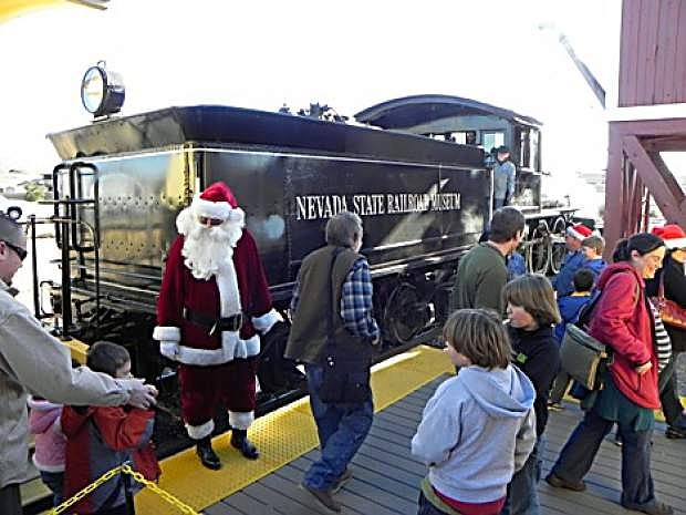 The Nevada State Railroad Museum is offering tickets in advance for its annual Santa Train.