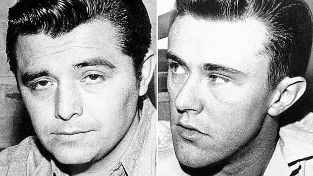 Perry Smith, shown in 1960, was hanged along with Richard Hickock on April 14, 1965, after being convicted of the quadruple murder of the Herbert Clutter family in 1959.