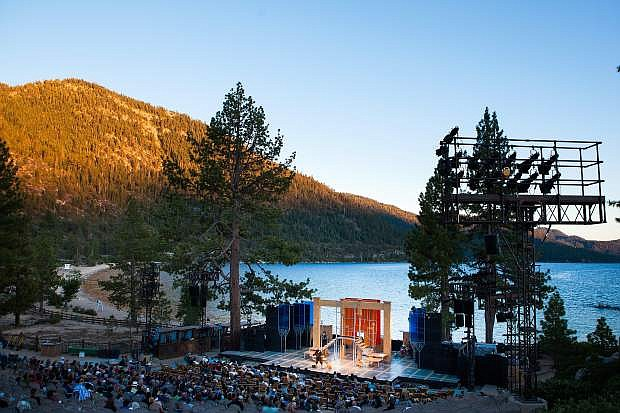 The Lake Tahoe Shakespeare Festival returns to its one-of-a-kind setting at Sand Harbor this week.