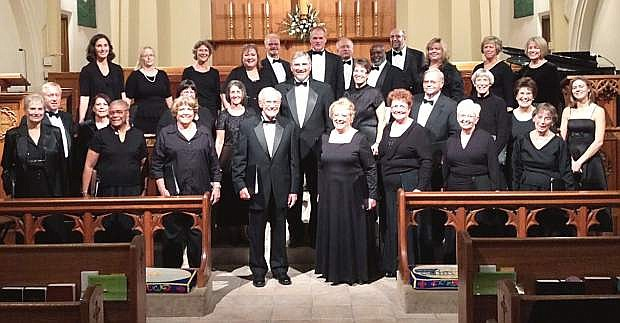 Carson Chamber Singers in concert at Trinity Episcopal Church.
