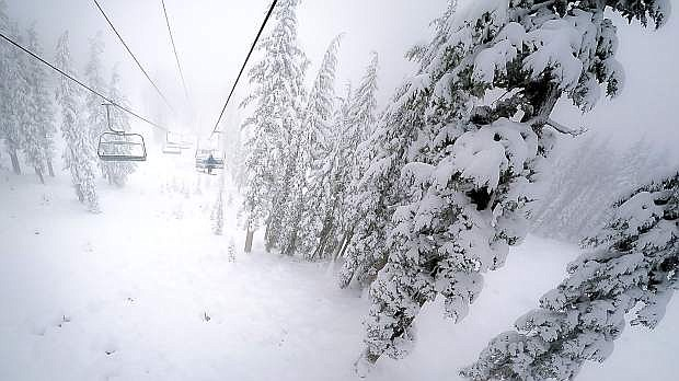 Northstar California is reporting 19 inches of new snow the past 48 hours.
