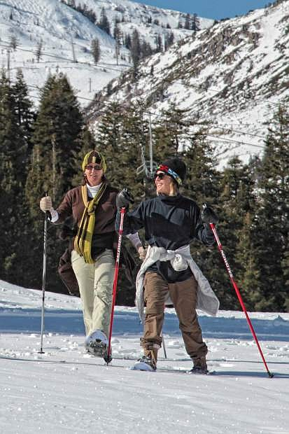 The health and lifestyle benefits of snow shoeing are worth it.