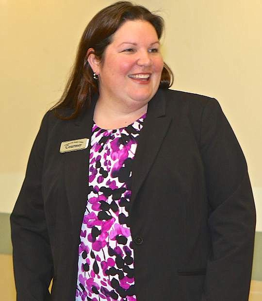 Courtney Warner is the Carson Center Senior Center's new Director.