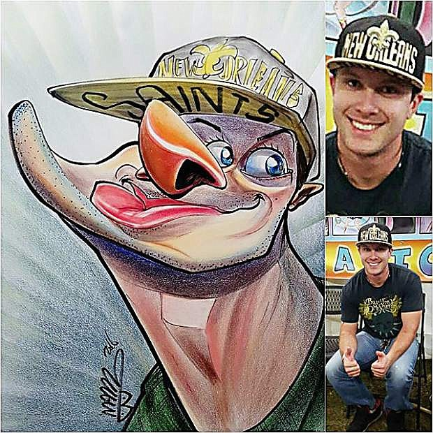 """Sketches by """"Aveti Arts""""  who will appear at the Nevada State Fair, taking place Thursday through Sunday at Mills Park."""