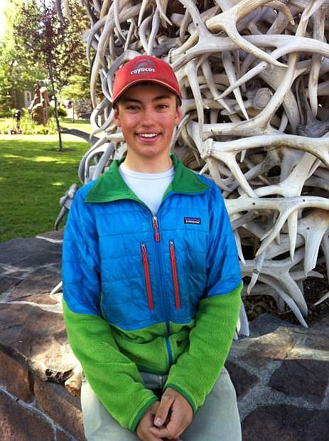 Carson High School student Fritz Steinle completed a wilderness horse packing expedition in July across the Absaroka Mountains in Wyoming.