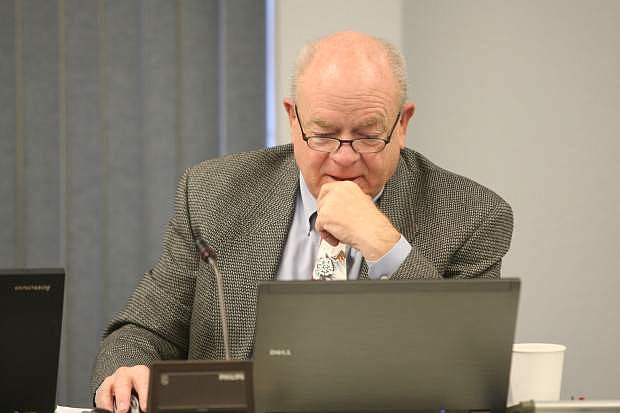 Larry Werner at a Carson City Board of Supervisors meeting in 2013. He is under consideration by Douglas County commisssioners as interim county manager.