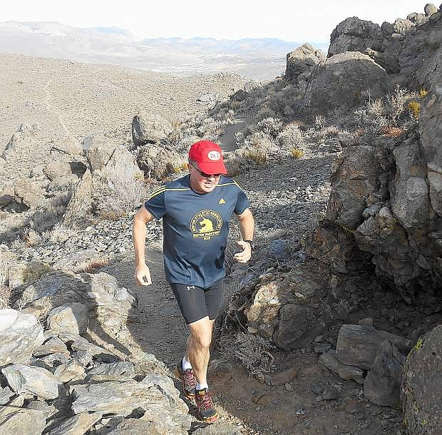 Carson City's Mark Struble is currently training for the upcoming Boston Marathon.