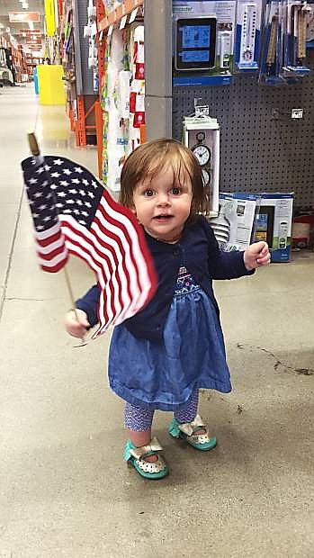 Maggie Lou, 1, is a beacon of light during an otherwise dark time.