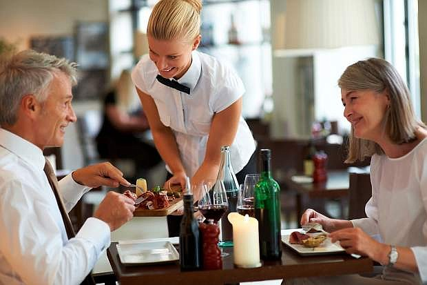 When dining out, be sure to alert your server to any food allergies you have.