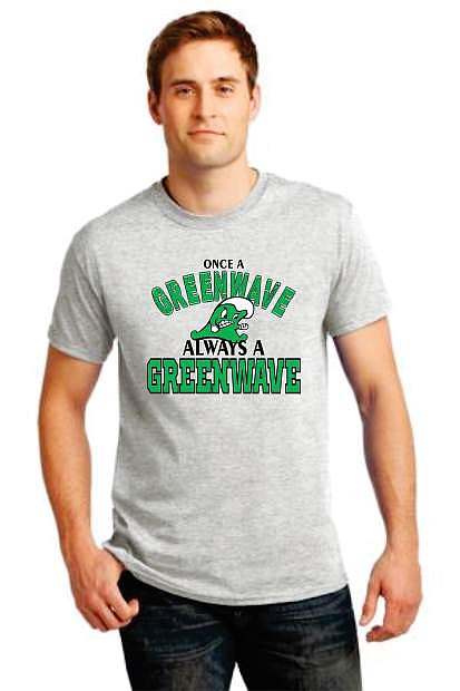 The Greewnave Hall of Fame committee is selling T-shirts designed by Butts Up Duck Designs as part of a fundraiser on Saturday at the community-wide reunion at Oats Park.