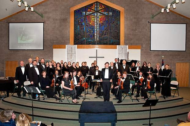 Tahoe Symphony Orchestra and Chorus will present St. Matthew's Passion by Bach at 7 p.m. Saturday at Shepherd of the Sierra Lutheran Church.