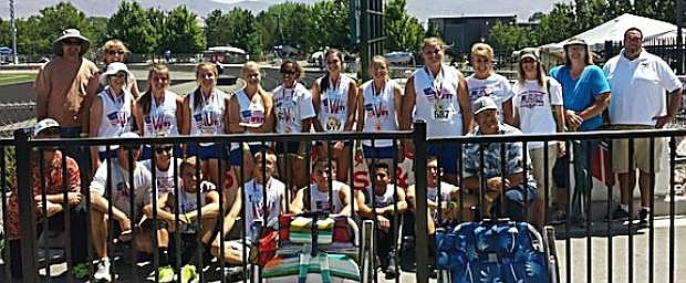 The Wave Elite Track Club competed in the West Coast National Championships over the Fourth of July when the team garnered 60 medals at BIshop Manogue High School.