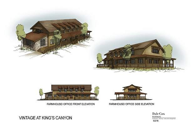 Conceptual drawings of the new plans for the Vintage at Kings Canyon.