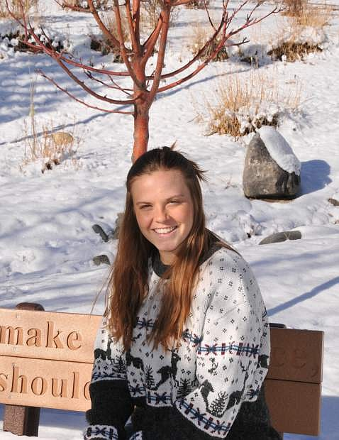 Samantha Hoover of Western Nevada College received the Coca-Cola Leaders of Promise Scholarship.