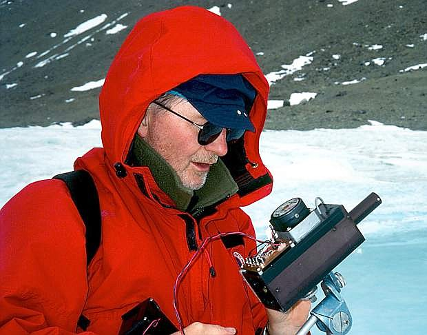 Robert Collier, director of the Jack C. Davis Observatory at Western Nevada College, will lecture on Antarctica at the Nevada State Museum on Thursday, March 27.