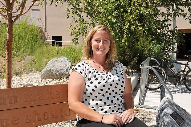 Piper McCarthy is the new interim director of counseling services at Western Nevada College.