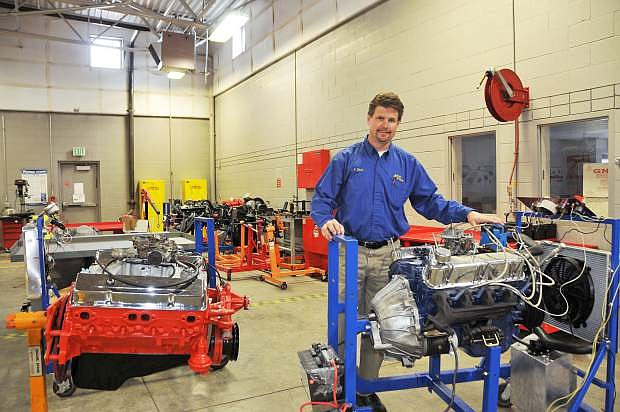 Automotive Technology Instructor Jason Spohr helped train 10 students in hands-on automotive technology in just 14 weeks. At the end, all 10 succeeded in earning 21 college credits.
