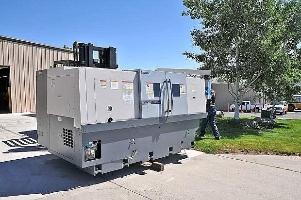 The Western Nevada College Manufacturing Lab received $1 million in new machinery.