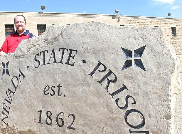 After 29 years of service Nevada State Prison Warden Greg Smith is retiring, shown here at his party at the old prison in Carson City Saturday.