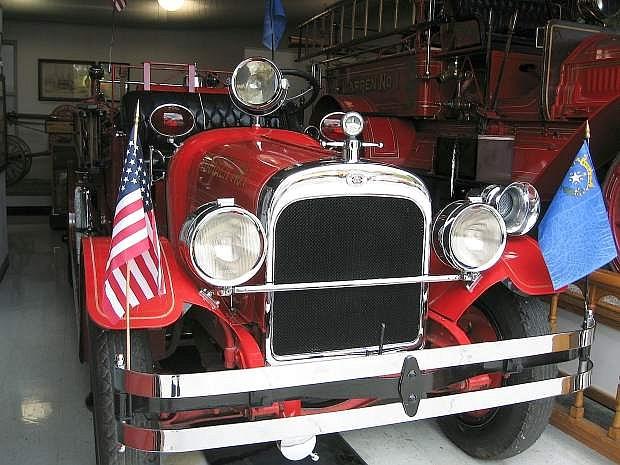 Courtesy of Sue Morrow, Warren Engine Co. No. 1