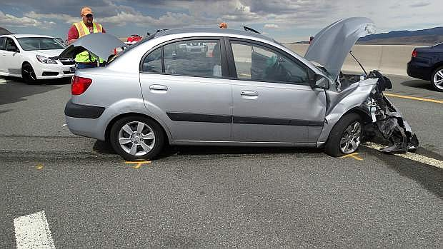 Gardnerville resident Dorothy S. Hunter was killed Monday in a car accident on I-580.