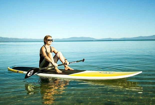 The Lake Tahoe Water Trail offers a liquid haven for paddleboarders.
