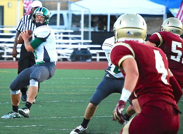 Fallon quarterback Joe Pyle leads the Greenwave into Saturday's Northern Division I-A opener at Truckee.