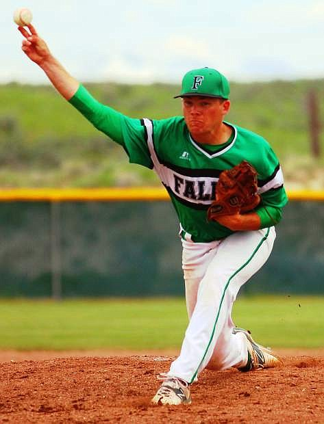 Fallon senior pitcher Kendall Johnson was named to the second team All-Northern Division I-A this year after his last season with the Greenwave baseball team.