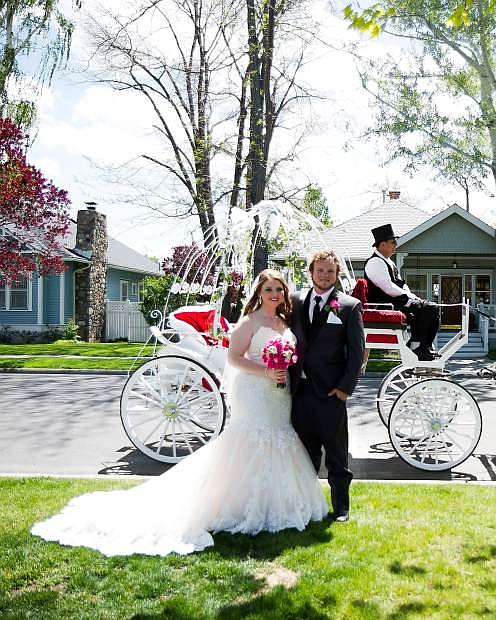 Bethany LeRae White, a 2009 graduate of Carson High School, and Casey James Want, a 2009 graduate of Douglas High School, married May 16 in Minden Park.