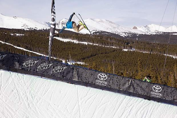 David Wise of Reno finished second in the Dew Tour halfpipe finals.