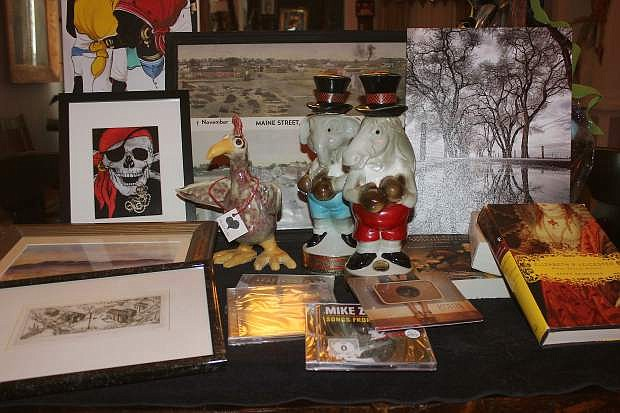 Evening with the Arts will have more than 300 silent auction items at the Saturday dinner and fundraiser.