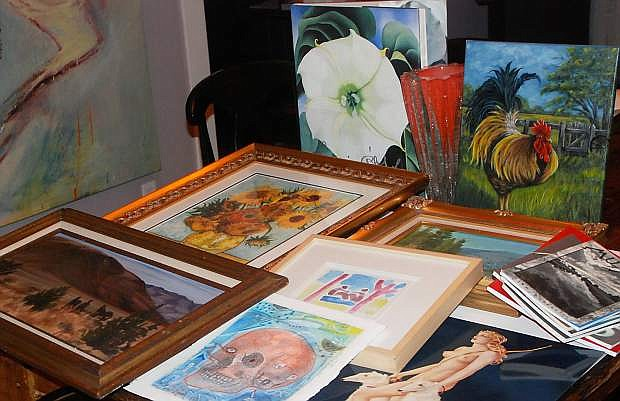 """""""An Evening with the Arts"""" features a variety of items for the silent and live auctions."""