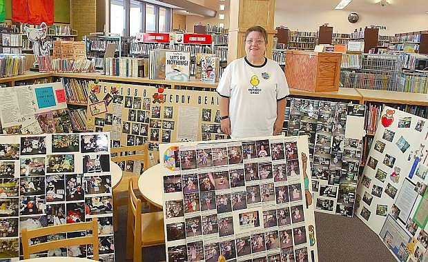 Hundreds of students and parents stopped by the Churchill County Library on Friday to thank Joyce Betts for her 36 years as children's librarian. Betts spent 36 years with the library.