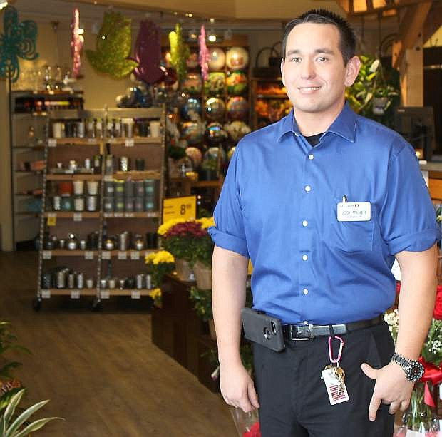 Joshua Milner has recently been promoted to store manager of the Fallon Safeway.