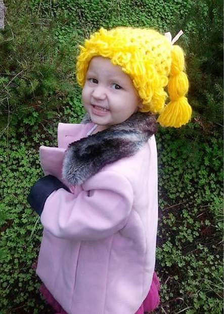 A fundraiser is slated for Saturday for 3-year-old Scarlett Telford.
