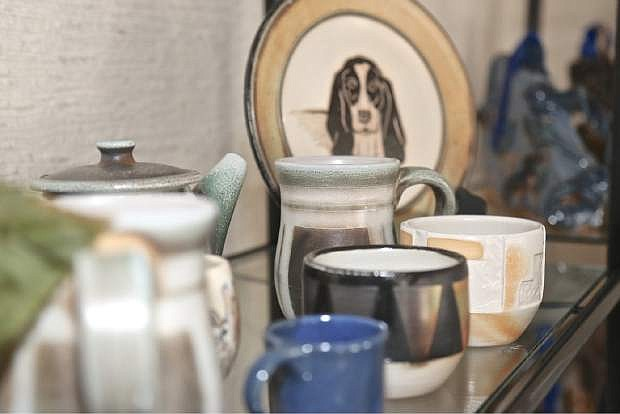 The Carson City Art Gallery will be open for business Saturday and will feature 15+ artists like potter Sarah Reesor who made the pictured items.