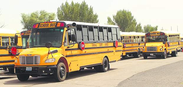 Some parents are still voicing their displeasure with the busing situation for the Churchill County schools.