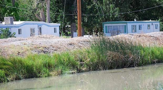 The V Line canal outside Fallon is part of a breach inundation analysis study that was presented to Churchill County commissioners Wednesday during their regularly scheduled meeting.