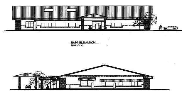 The design for the new senior center came from Architect Frank Woodliff III.