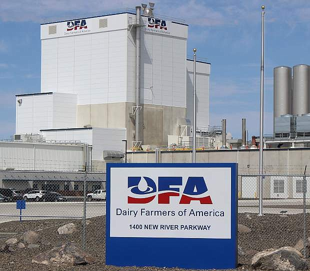 During comments, Commissioner Pete Olsen said the grand opening ceremony for the Dairy Farmers of American milk plant is next week. The LVN website will have updated information on day and time.